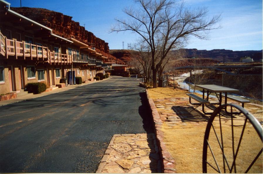 Motel Near Monument Valley