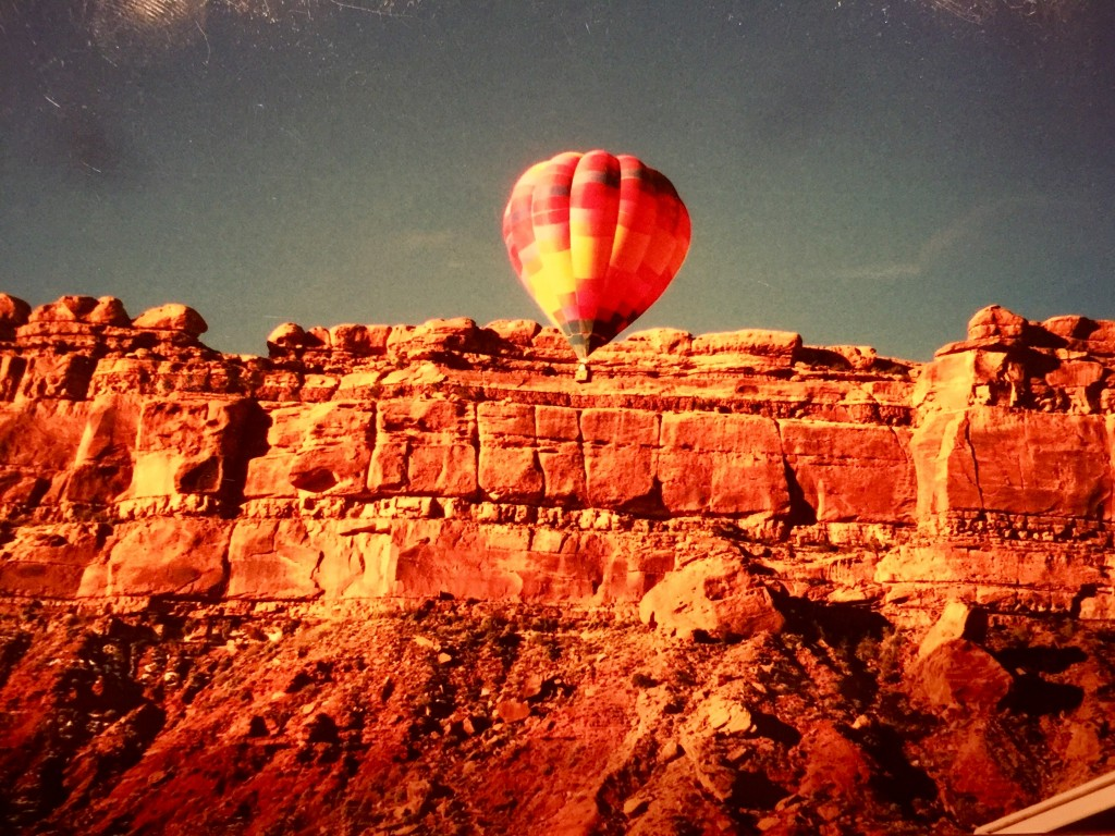 Valley of the Gods Balloon Gathering